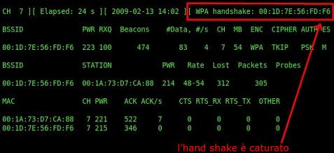 aircrack handshake