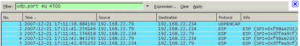 wireshark cattura