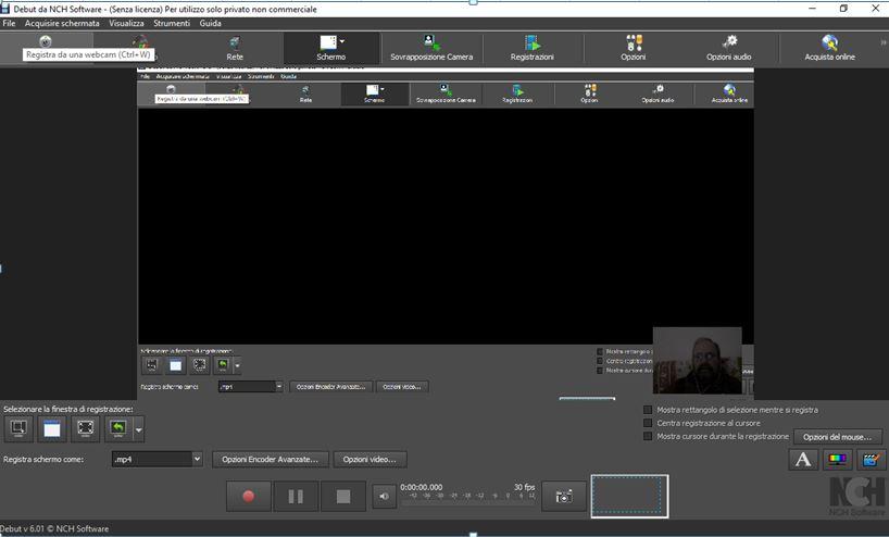 Registrare video lezioni sullo schermo